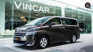 Toyota Vellfire 2.5X Welcab - Side Profile