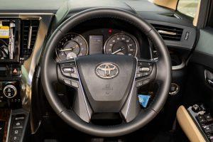 Toyota Vellfire 2.5X Welcab - Steering Wheel