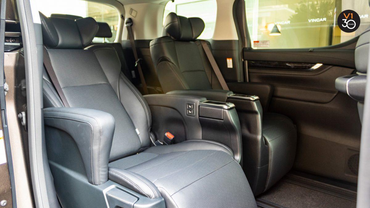 Toyota Vellfire 2.5Z G - Passenger Seats
