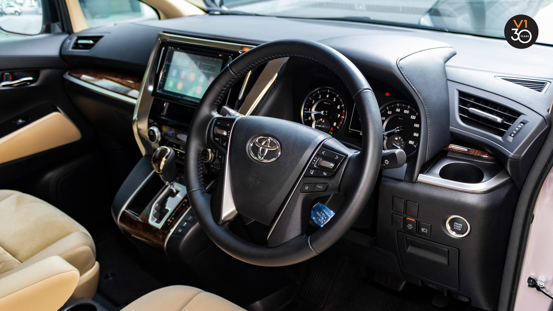 Vellfire2.5X (8 Seater) - Steering Wheel