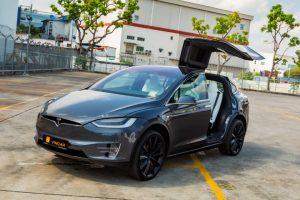 Tesla Model X 100D - Gull Wing Doors Photo