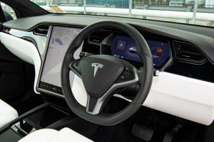 Tesla Model X 100D - Dashboard Photo