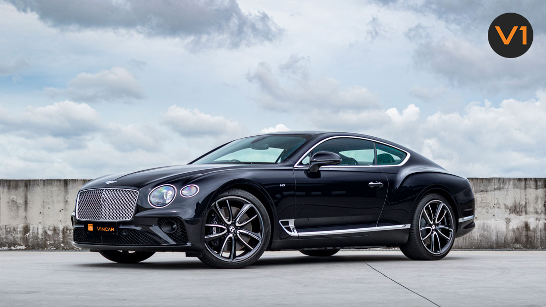 2020 Bentley Continental GT Coupe Front Angle