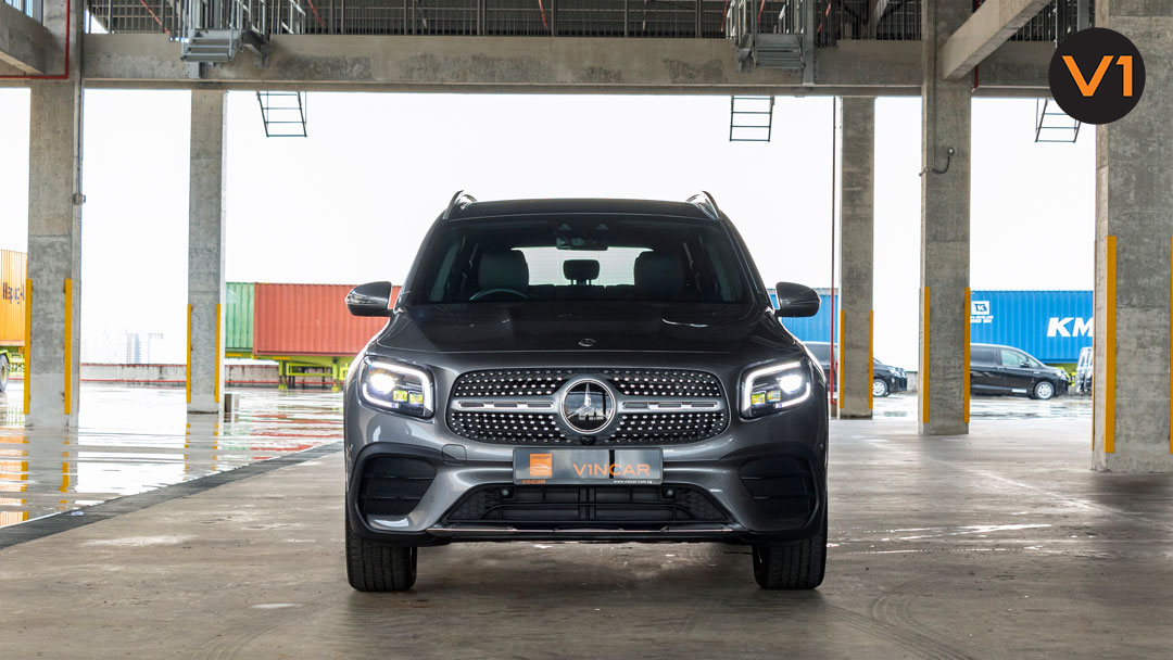Arrived at VINCAR The all-new Mercedes-Benz GLB 220D