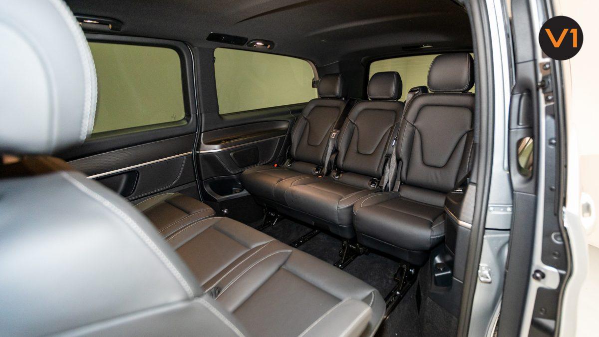 Mercedes-Benz V300D Extra Long AMG Line - Back Seat