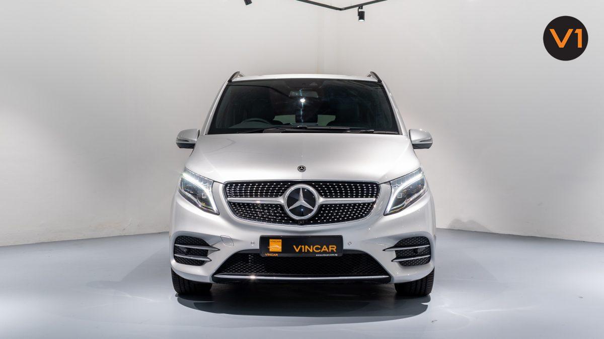 Mercedes-Benz V300D Extra Long AMG Line - Front Direct