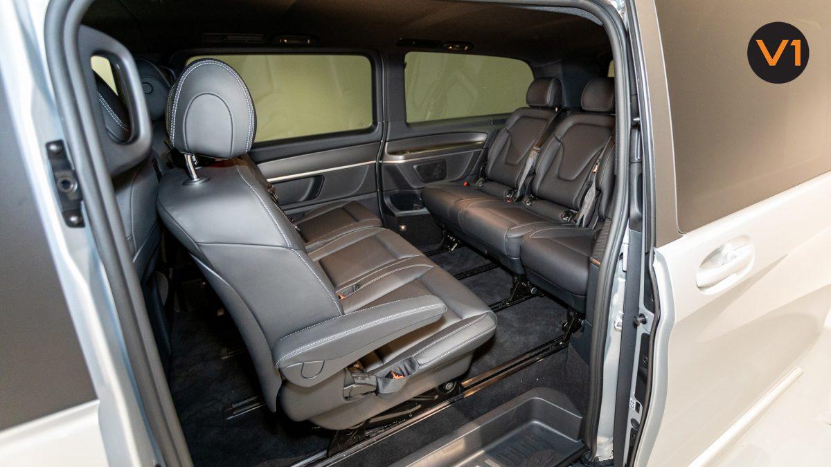 Mercedes-Benz V300D Extra Long AMG Line - Rear Passenger Seat
