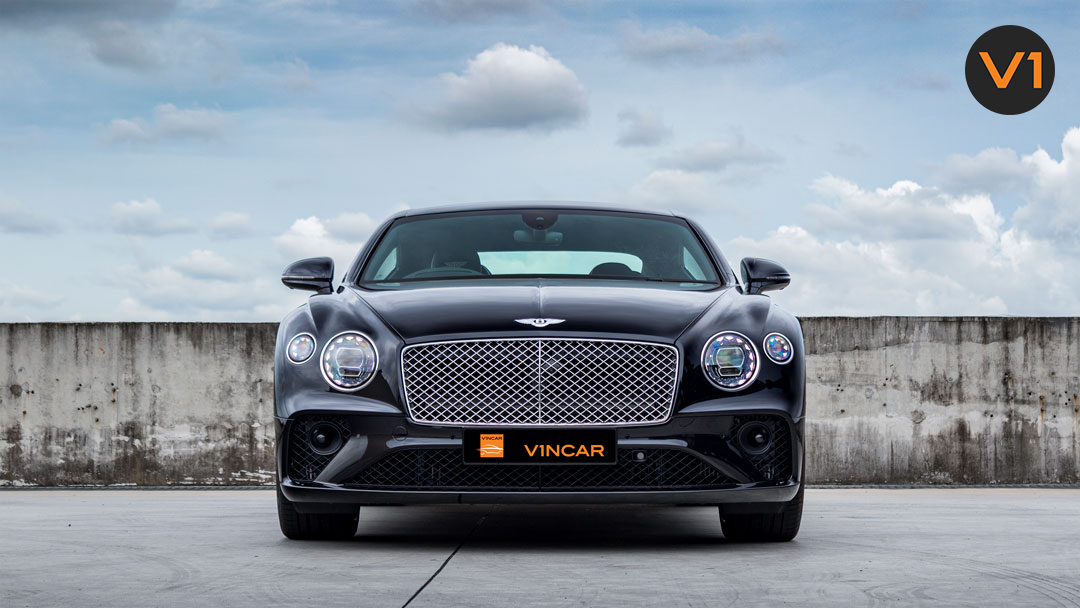 Onyx Black 2020 Bentley Continental GT Coupe V8