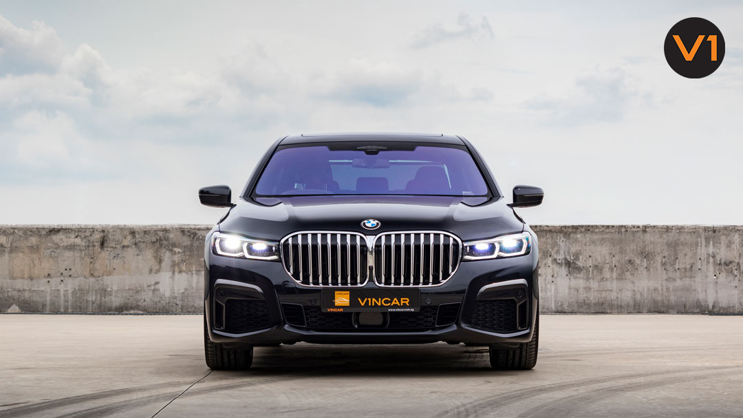 The new 2020 BMW 740Li M Sport Saloon at VINCAR