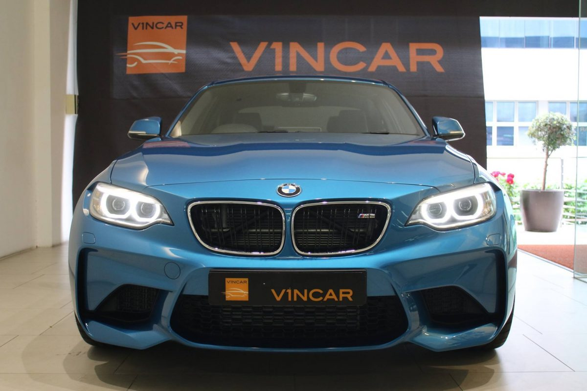 2016 Straits Times Car of the Year BMW M2 Coupe in second
