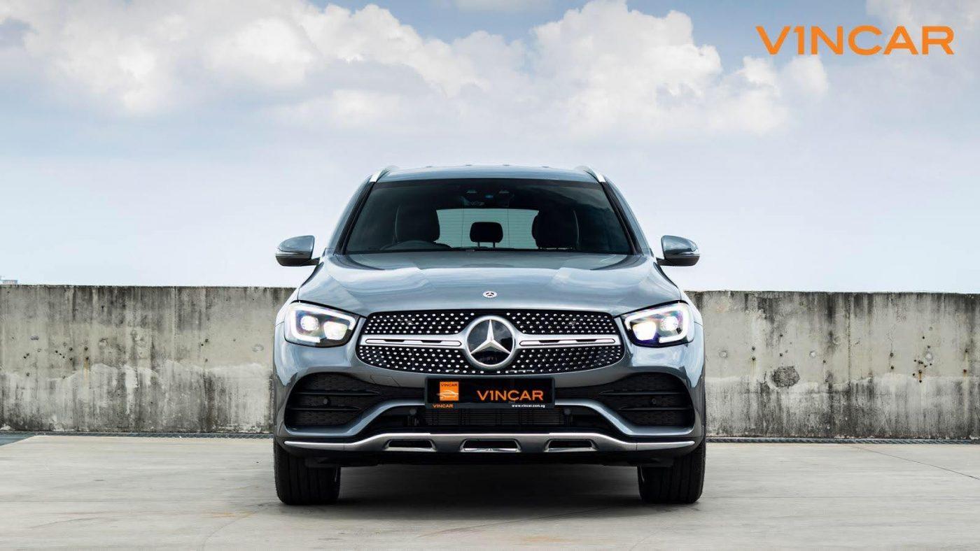 2020 Mercedes-Benz GLC300 4MATIC AMG Premium - Front