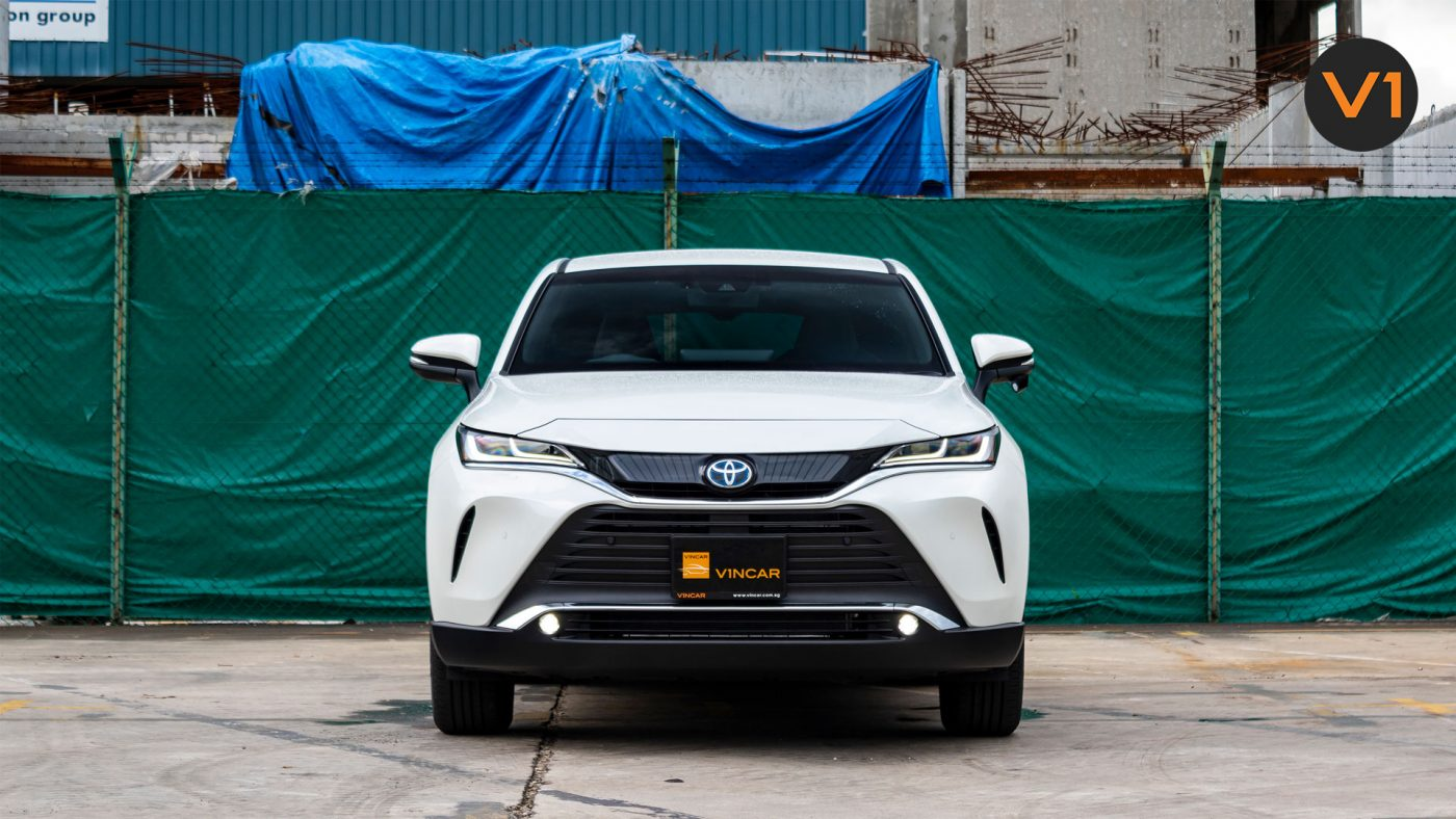 The All new Toyota Harrier 2.5G Hybrid - now at VINCAR