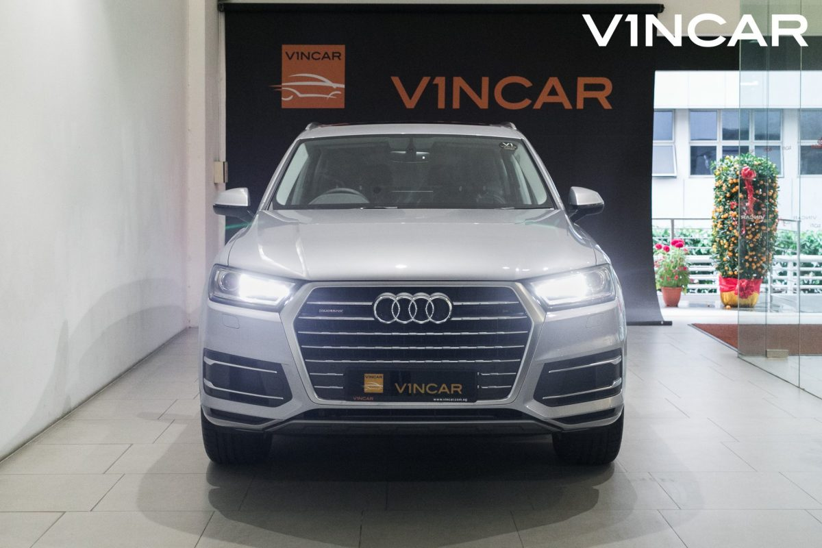 A Rare Audi is here, the Audi Q7 40 TFSI Quattro