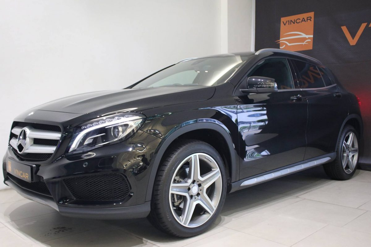 Agile prowess of the Mercedes-Benz GLA-Class