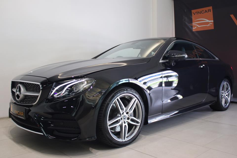 All new E-Class Coupe model has arrived