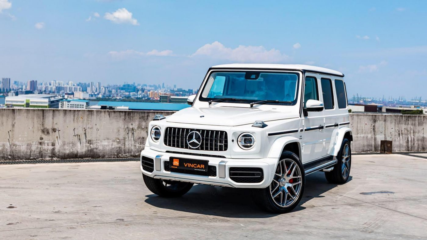 All-new Mercedes-AMG G63 stands as a flagship SUV