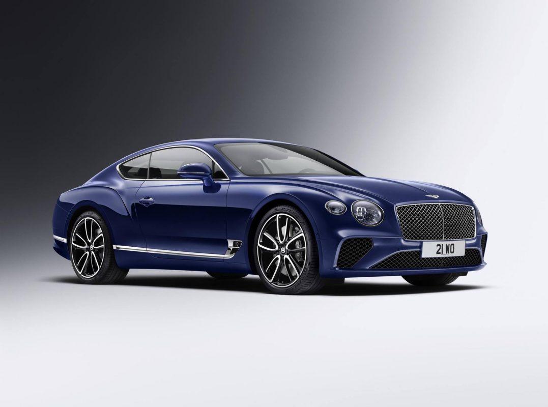 Automotive News New Bentley Continental GT