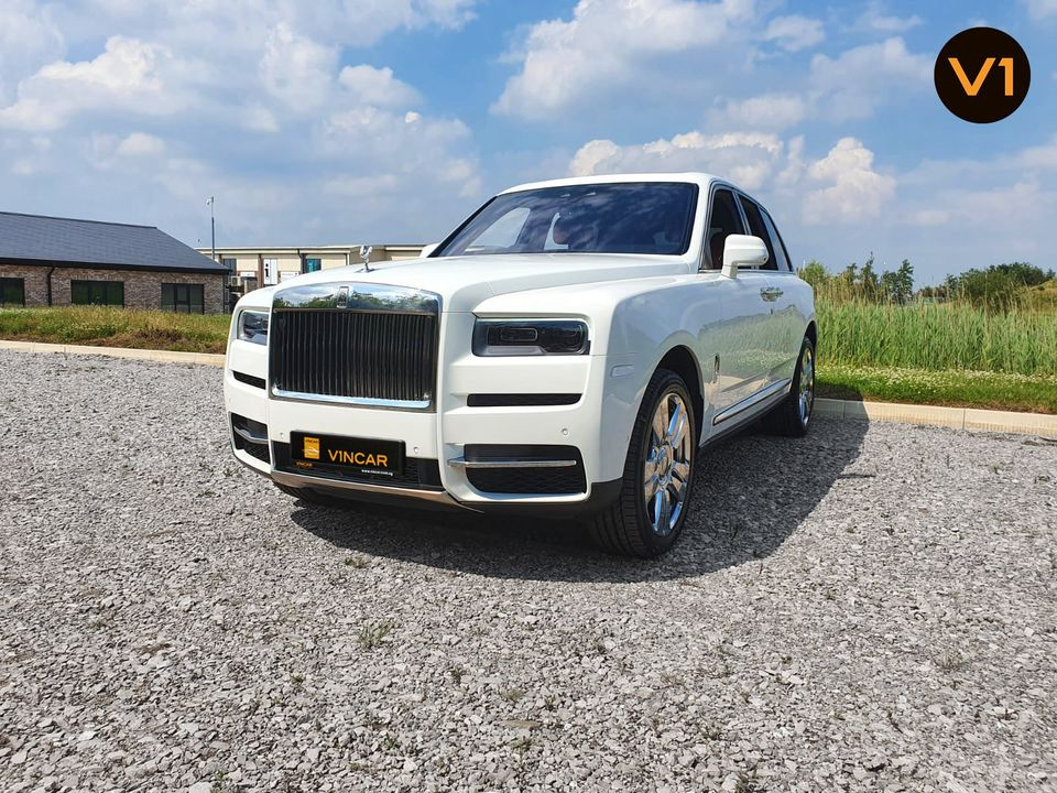 Available for your order Arctic White Rolls-Royce Cullinan