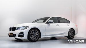 BMW 320I M SPORT SALOON-Side Profile