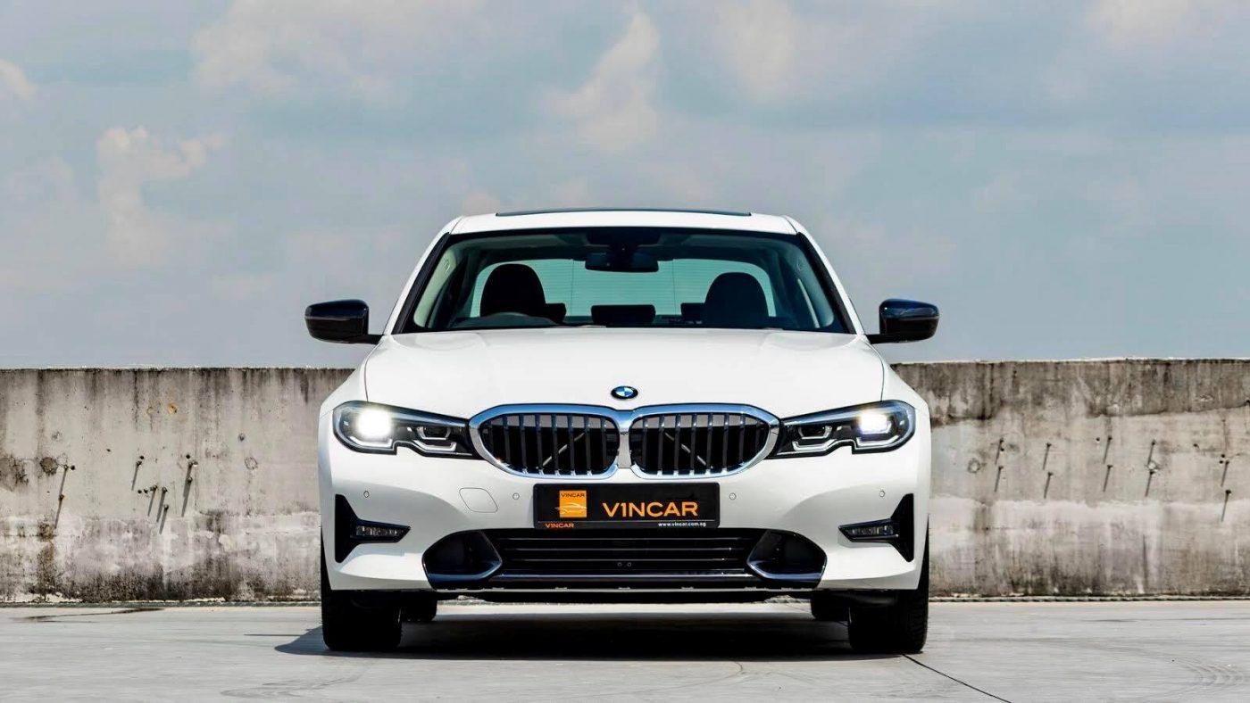 BMW 320iA Saloon Sport - Front