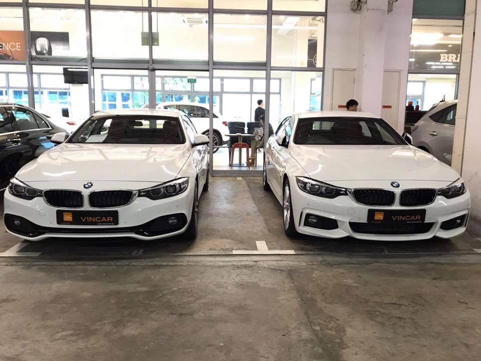 BMW 4 Gran Coupe twins!