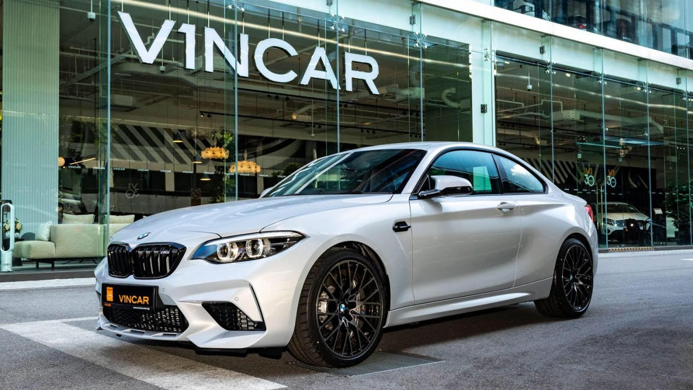 BMW M2 Competition - Side Profile