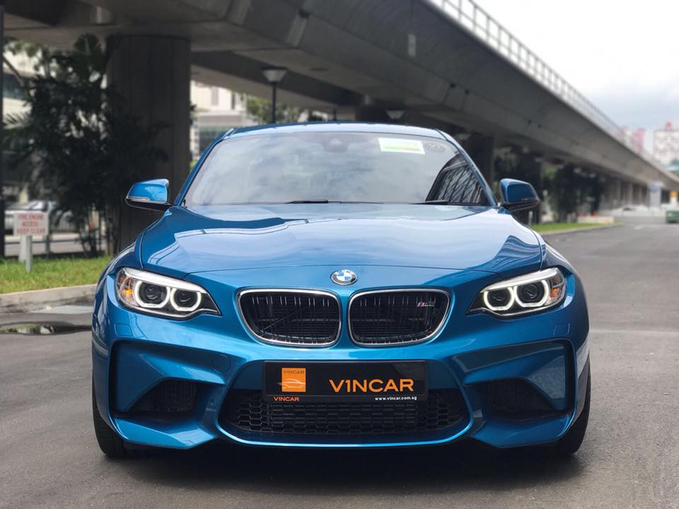 BMW M2 Coupe Iconic and legendary