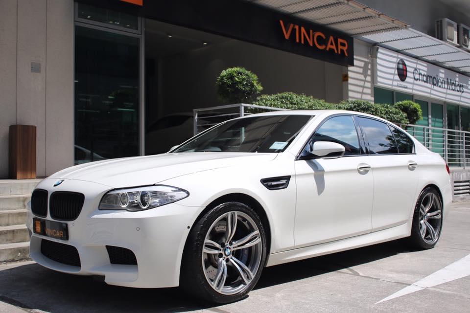 BMW M5 - powerful saloon car ever built
