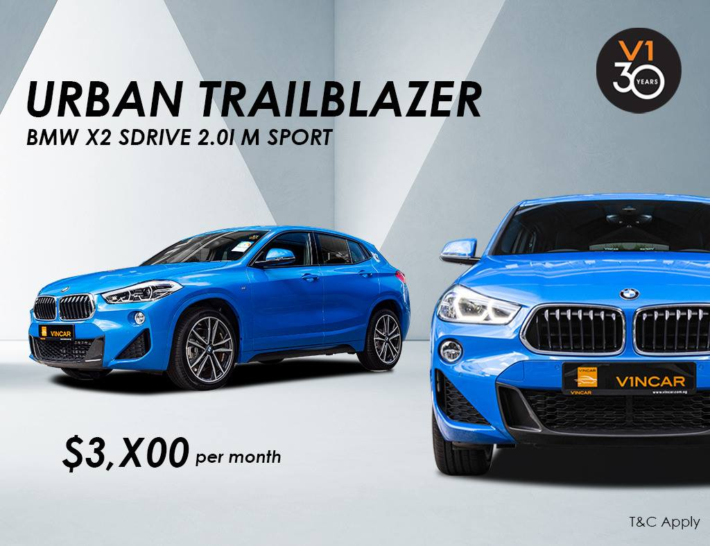 BMW X2 sDrive 2.0I M Sport For Lease at VINCAR today
