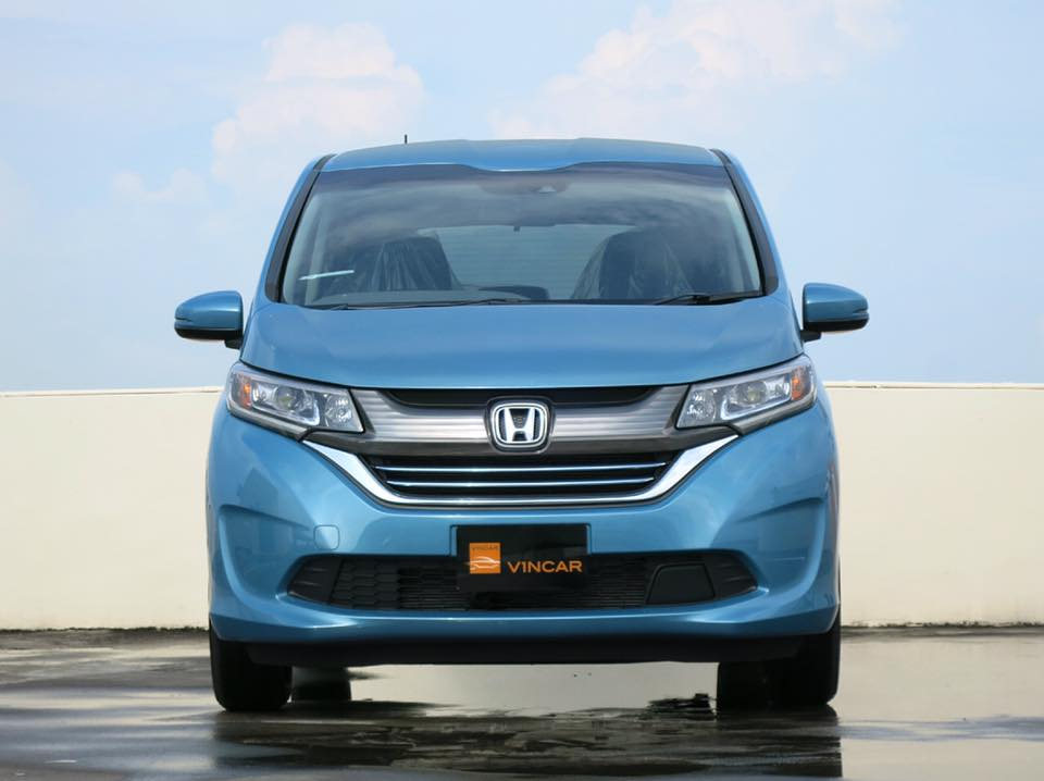 Blue Horizon Metallic Honda Freed 1.5G Hybrid Sensing