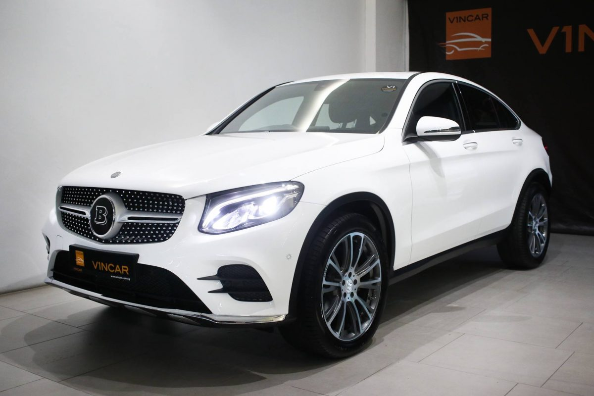 Brabus Mercedes-Benz GLC250 Coupe AMG - View now!-