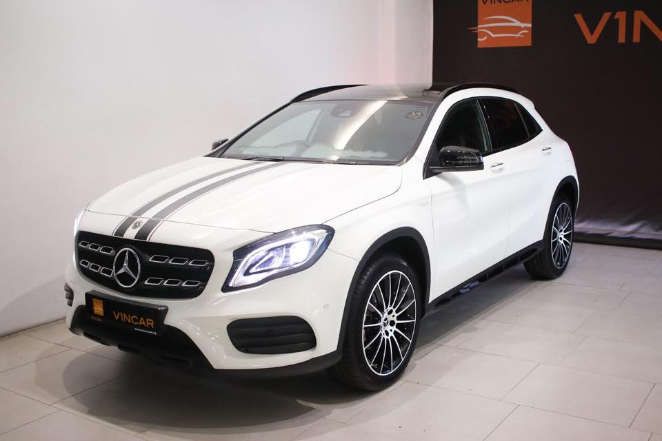 Bumper month Check out these models at VINCAR Showroom-Mercedes-Benz GLA200 WhiteArt Edition