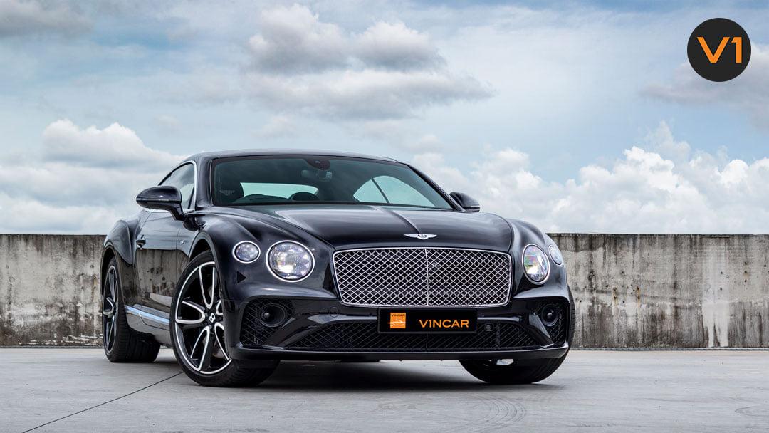 Clad in rich Onyx Black - 2020 Bentley Continental GT V8