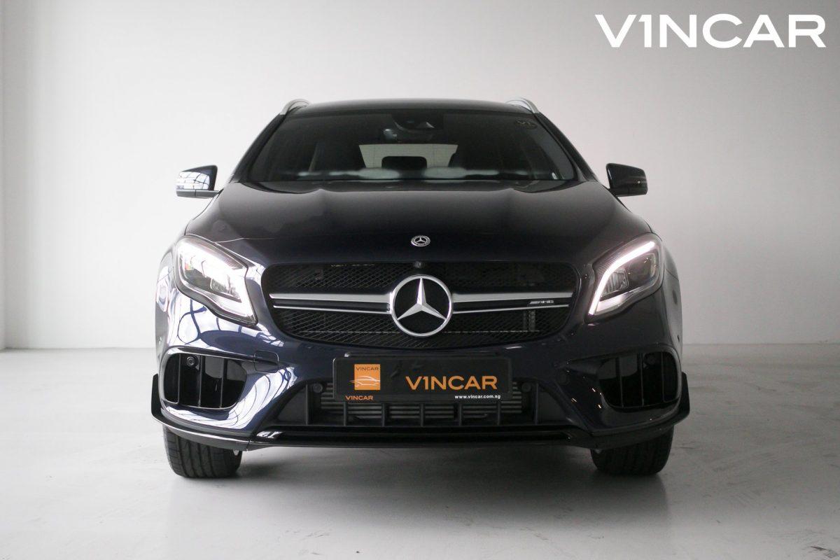 Mercedes-Benz GLA200 with GLA45 AMG exterior kit