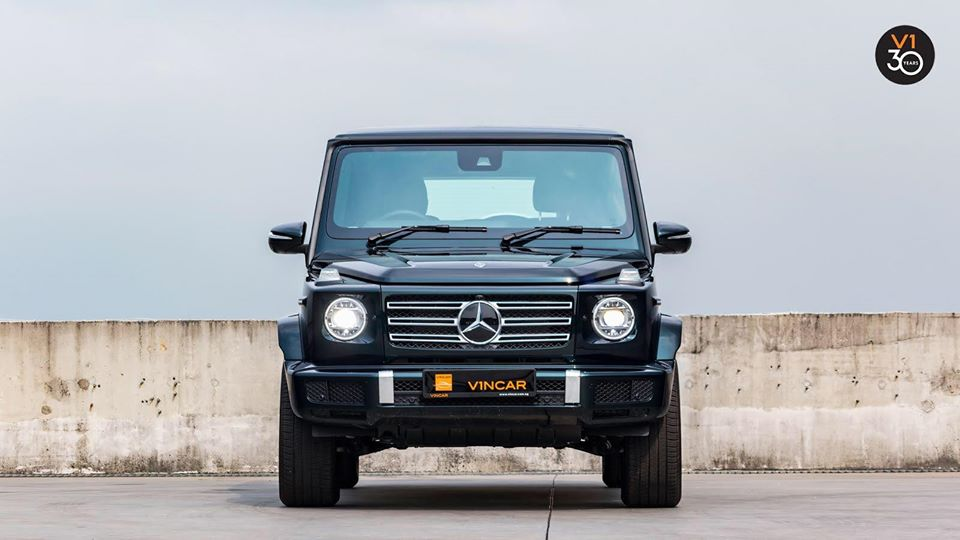 Discover the elegance of the new Mercedes-Benz G350D AMG