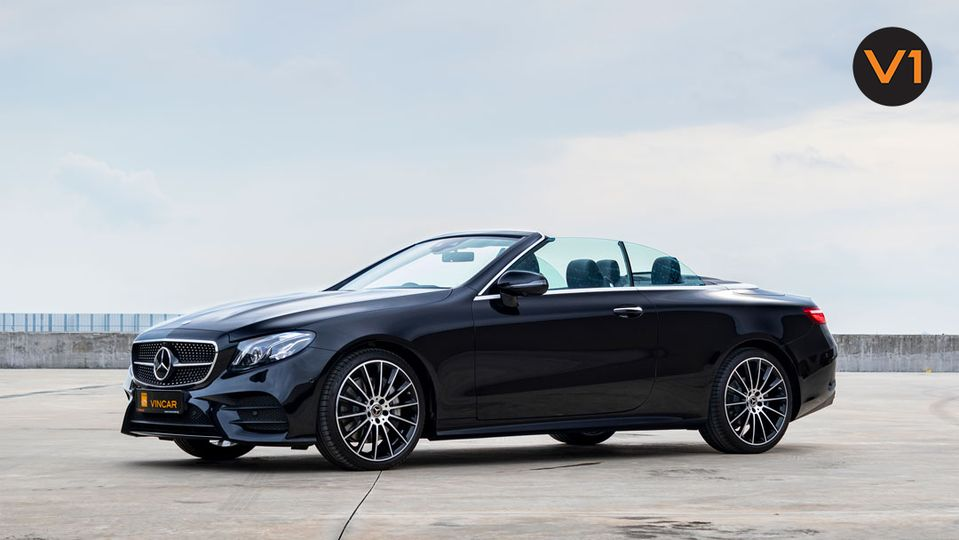 Elegant open-top Mercedes-Benz now available for order at VINCAR