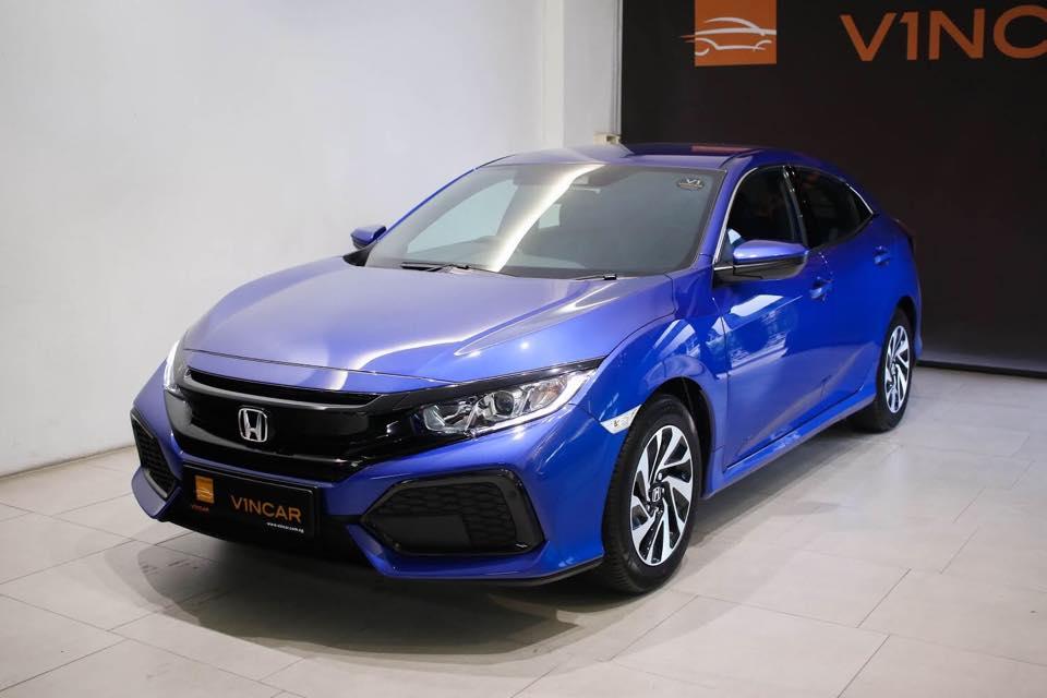 Engine Capacity of Honda Civic 1.0SE Anything but small!-