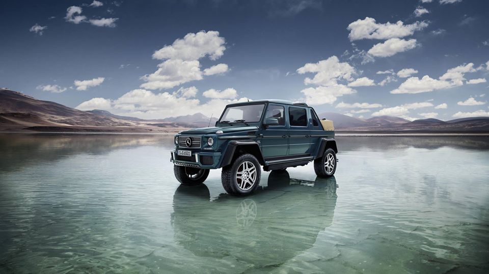 Exclusive masterpiece of G Class that is the Maybach G 650