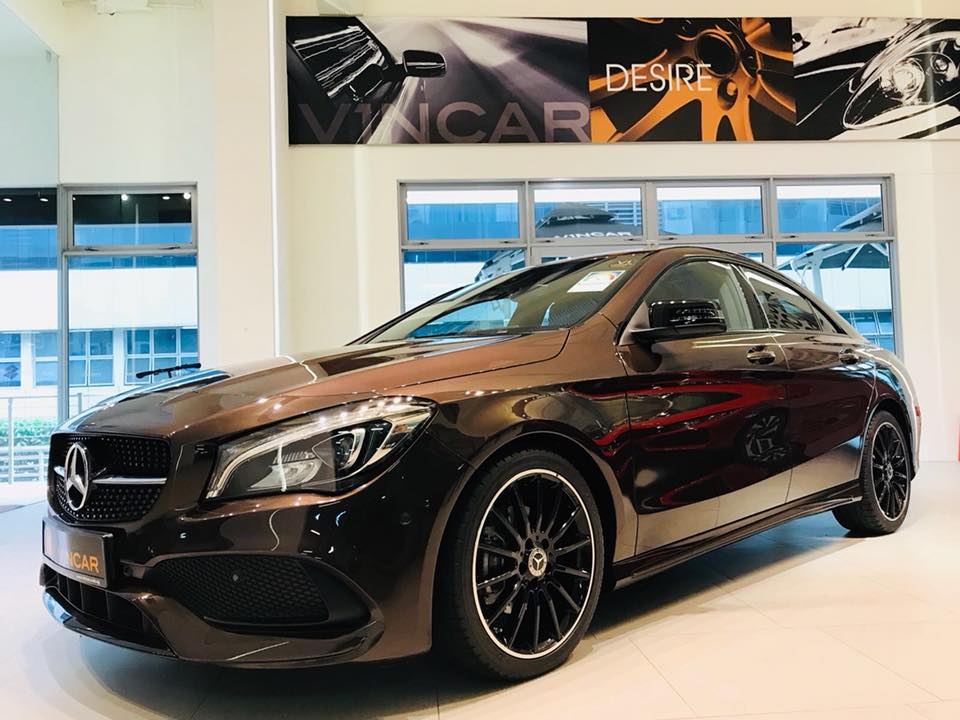 Feel like a champion with Mercedes-Benz CLA180 AMG Sport