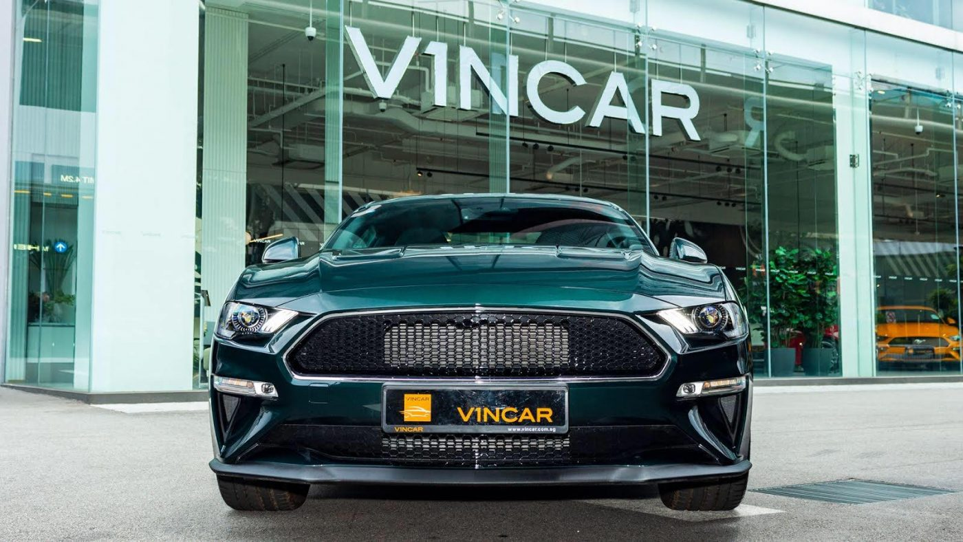 Ford Mustang Bullitt Limited Edition - Front