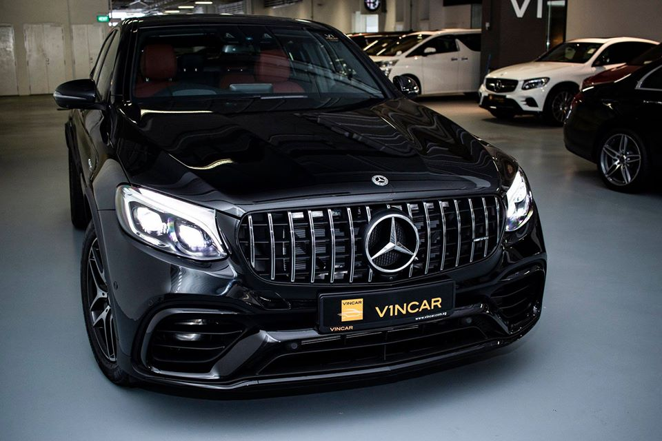 Fresh from factory - Mercedes-AMG GLC43 Coupe is here!