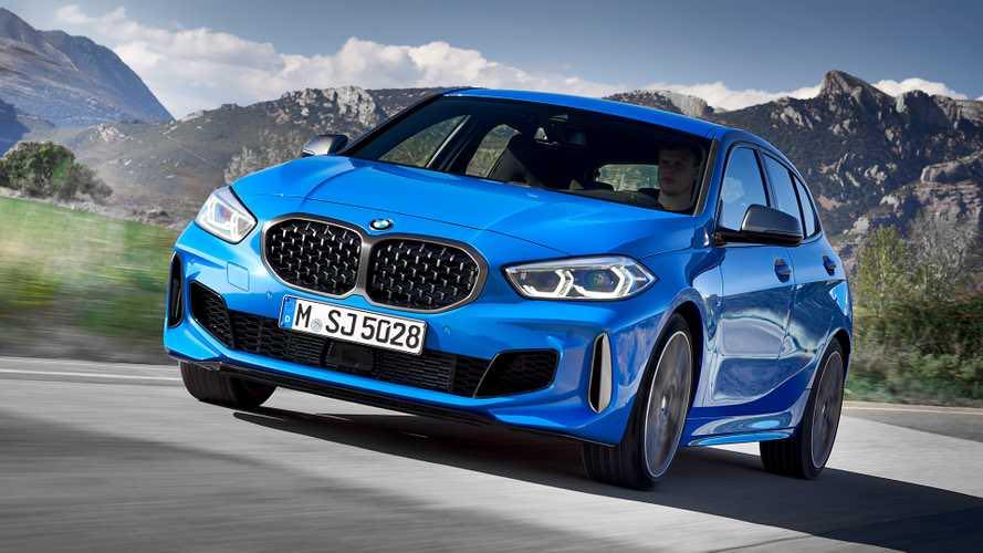 Fresh photos from the BMW's new 1 Series - Front Angle