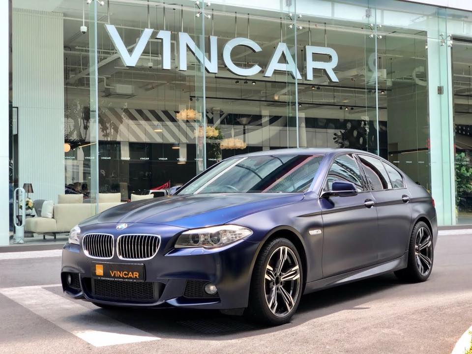 Guaranteed well-maintained BMW 528i M Sport