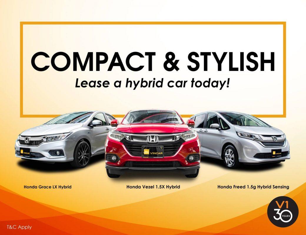 Honda Hybrid for lease in VINCAR