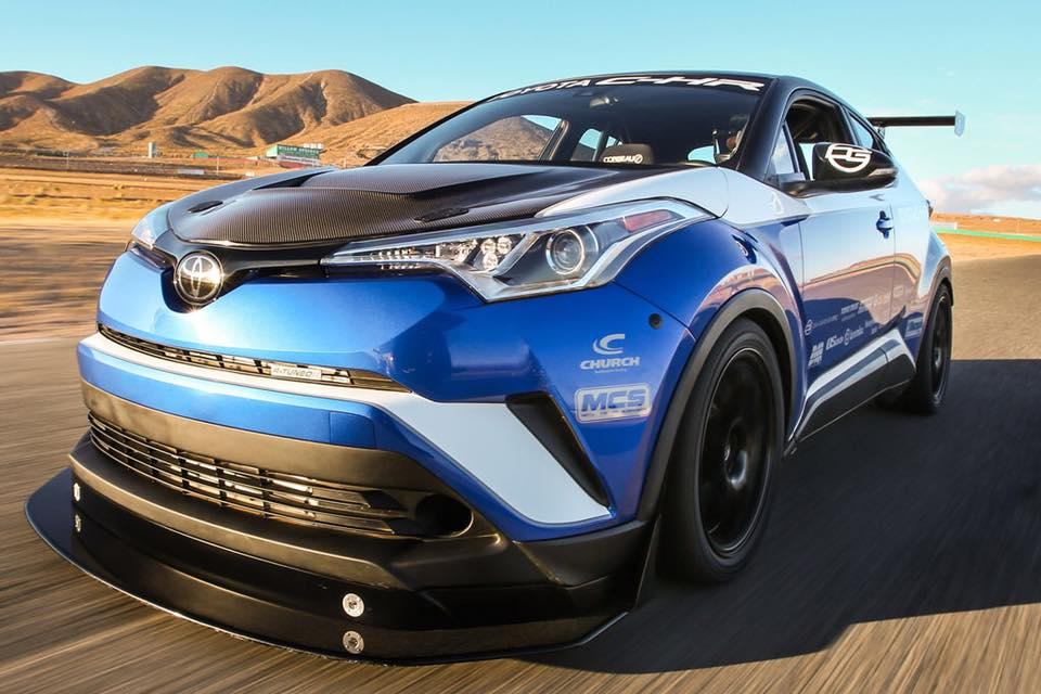 Hot now: 600 hp Toyota C-HR