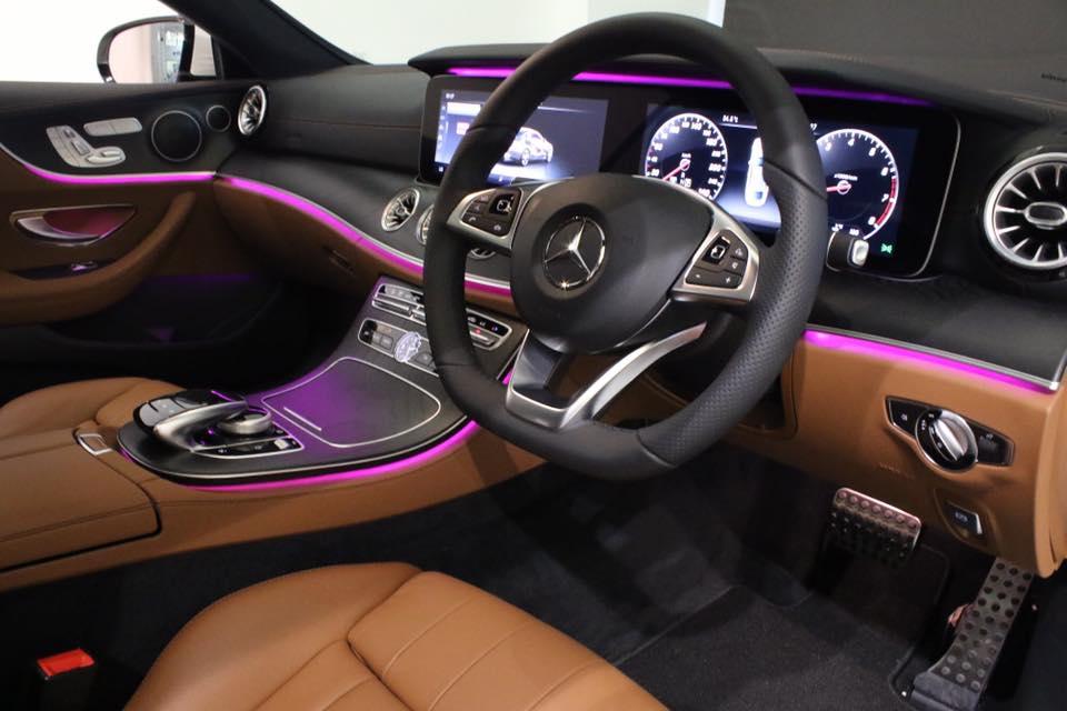 Interior raid Mercedes-Benz E300 Coupe AMG
