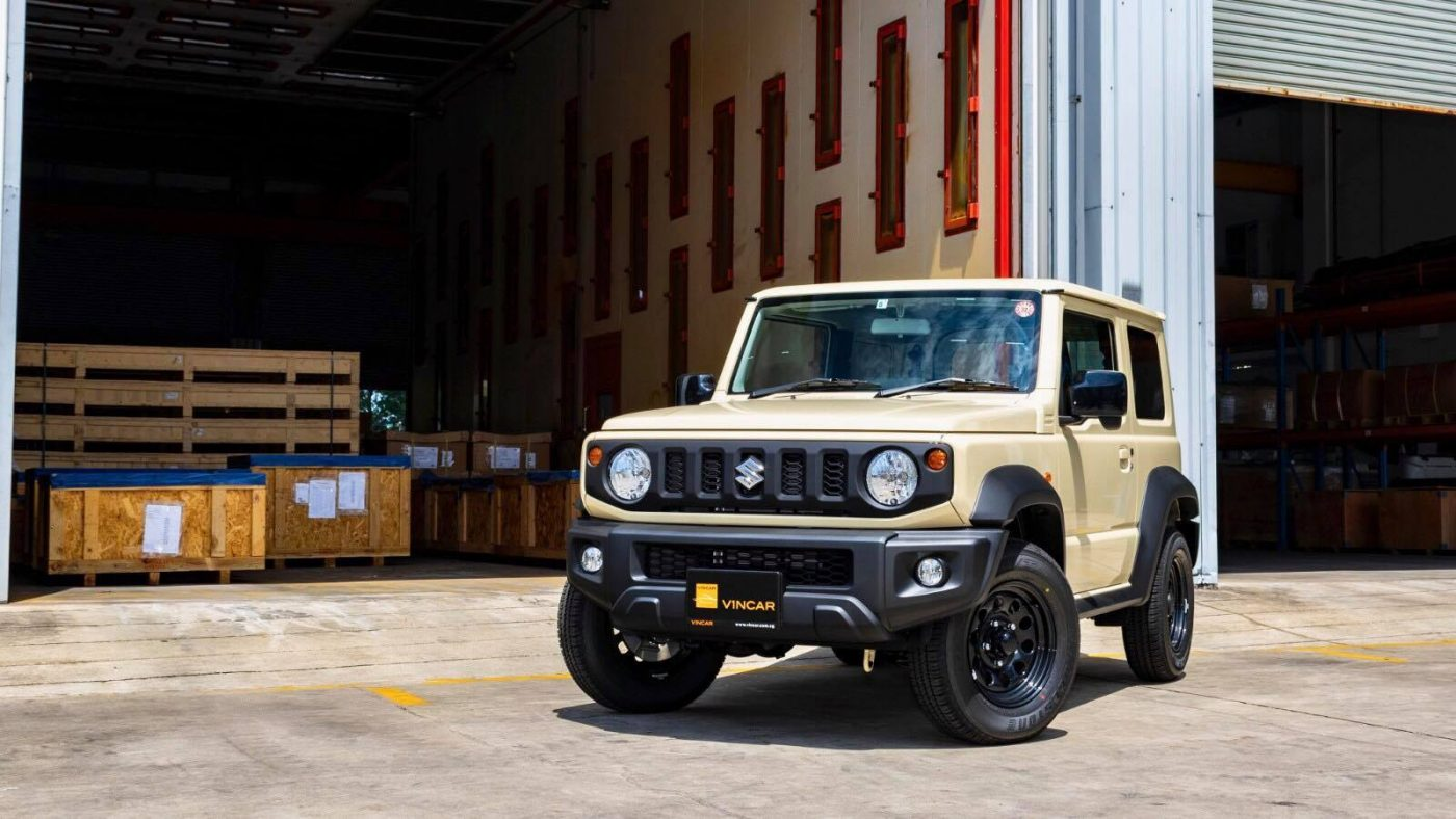 Introducing the all-new second generation Suzuki Jimny