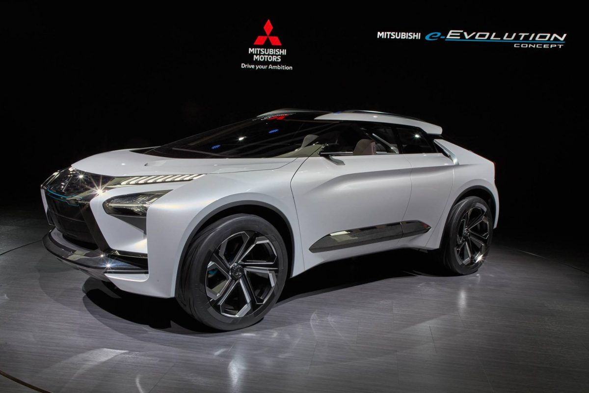 Japan Motor Show Updates Part 2-Mitsubishi e-Evolution Concept