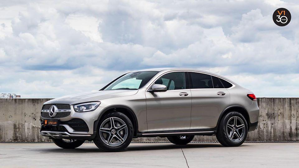 Latest Mercedes-Benz GLC300 4MATIC Coupe AMG Premium Plus!