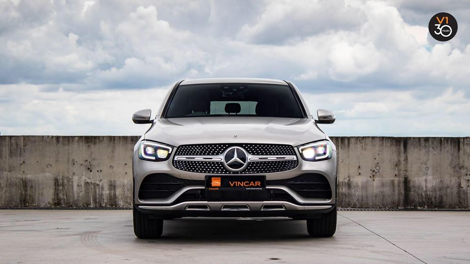 Latest Mercedes-Benz GLC300 4MATIC Coupe AMG Premium Plus!
